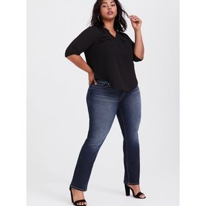 NWT! Torrid Relaxed Boot Jean Sapphire Wash-20